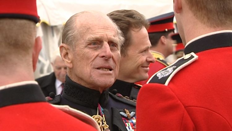 Duke of Edinburgh In Uniform