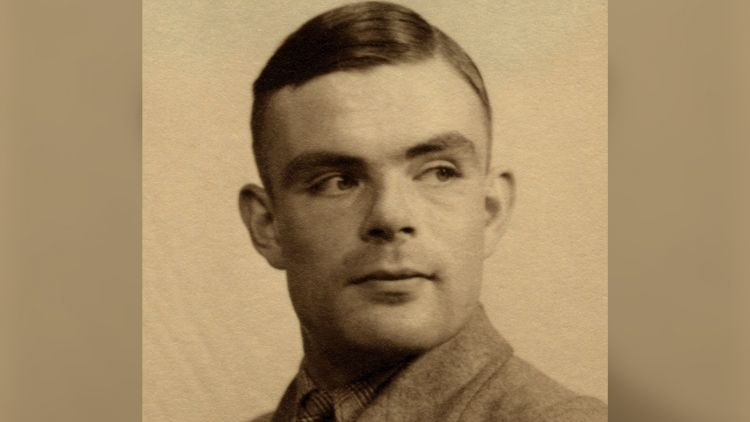 Enigma code breaker Alan Turing WWII LGBTQ portrait picture dated 1935 DATE UNKNOWN 1935 credit ARCHIVIO GBB Alamy Stock Photo.jpg