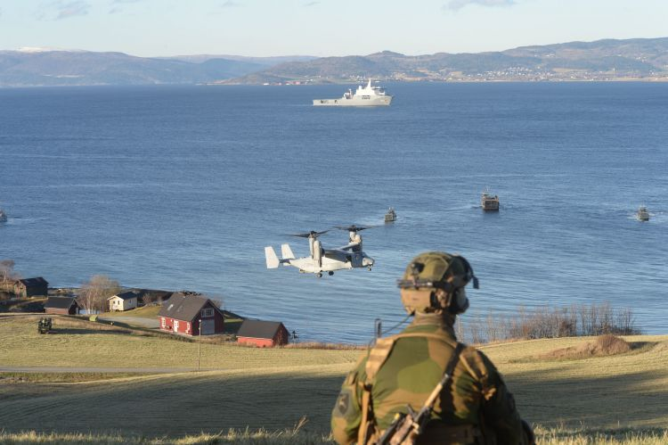 Exercise Trident Juncture NATO