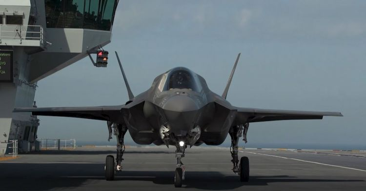 F-35B on HMS Elizabeth state of the nation