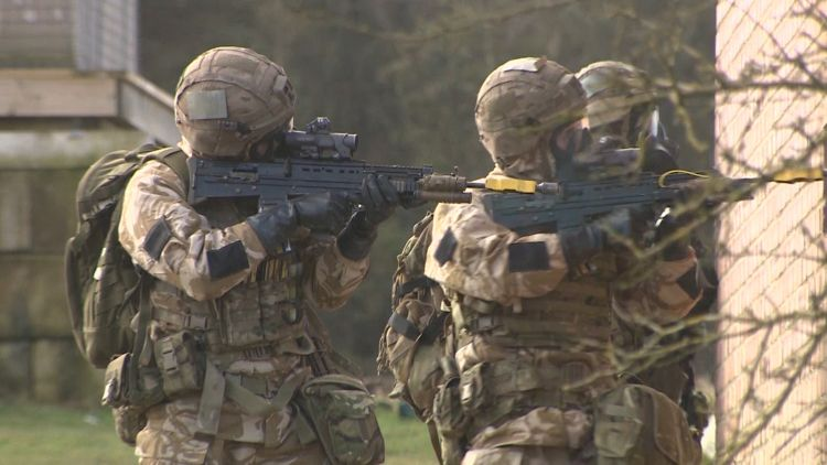 40 Commando Chemical Weapons Training