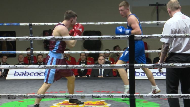 Royal Navy Inter-Services Boxing win 2018