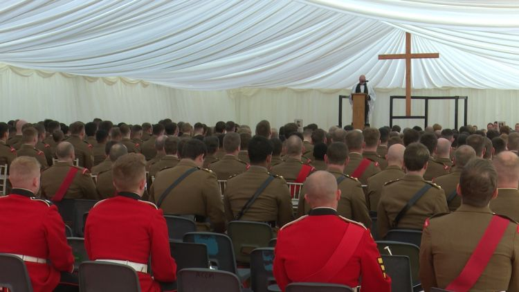 1st Battalion Coldstream Guards Commemorate WWI War Heroes