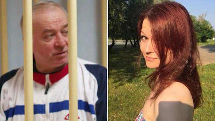 Sergei and Yulia Skripal.