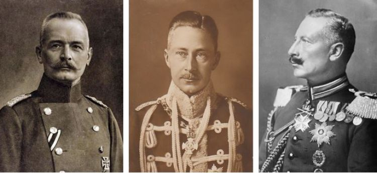 German commanders Verdun