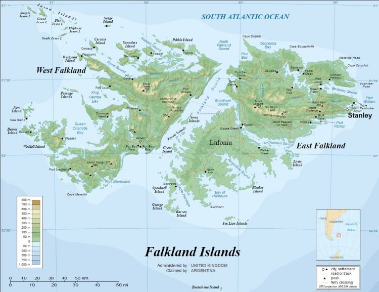 Falklands British names by Eric Gaba