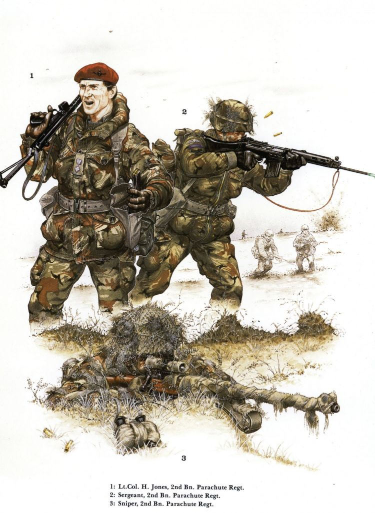 Falklands soldiers