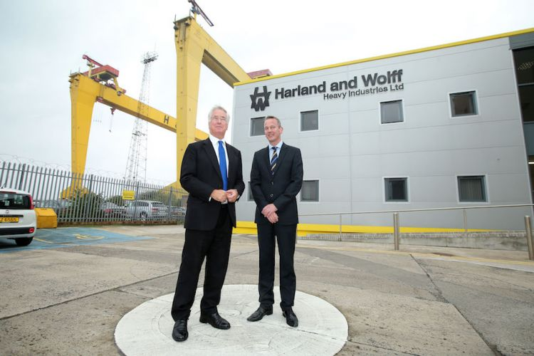 Michale Fallon Harland And Wolff