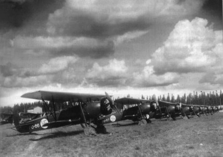 Finnish Fokkers 1935