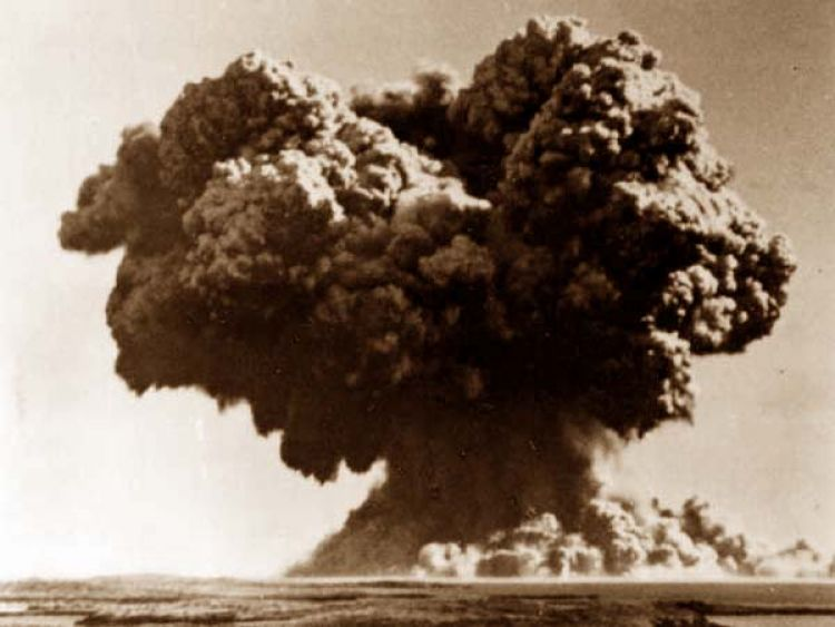 First British nuclear test