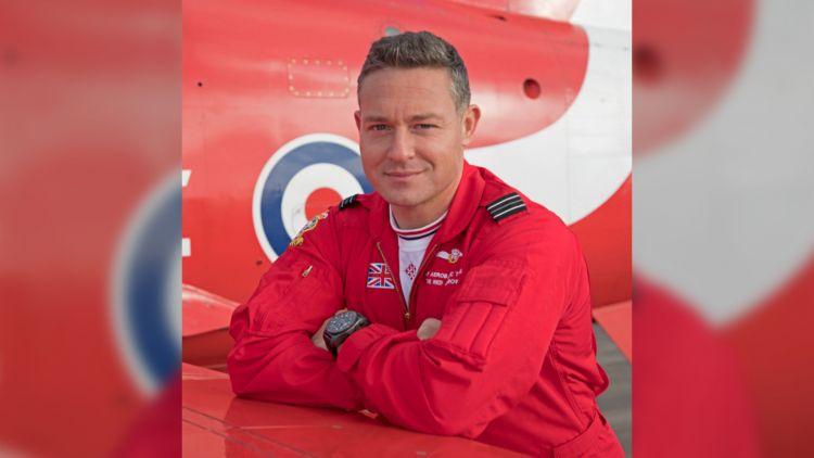 Flight Lieutenant Will Cambridge 291119 CREDIT RED ARROWS
