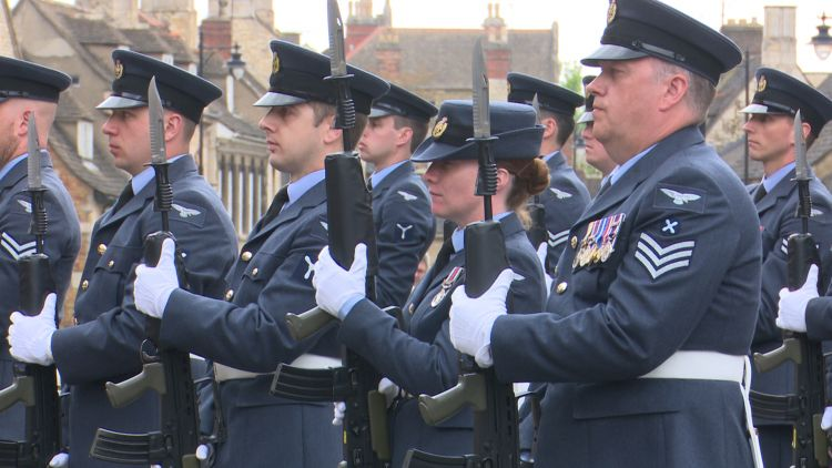 RAF Wittering Celebrate Freedom Of Stamford