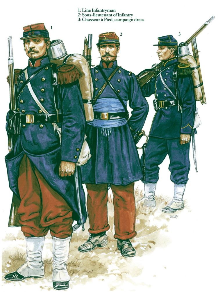 From French Army 1870-71 Franco-Prussian War (1)
