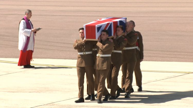Gdsm Mathew Talbot repatriation