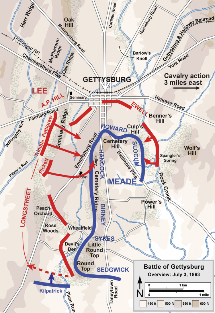 Gettysburg_Battle_Map_Day3 by Hal Jaspersen