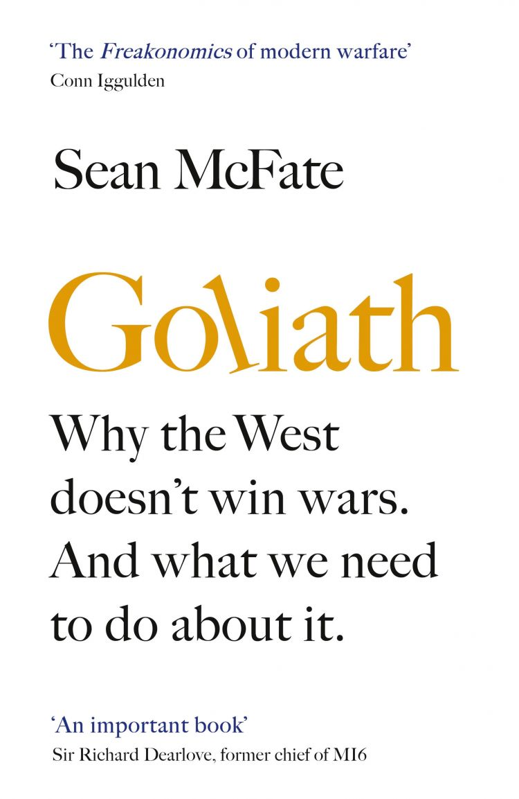 Goliath by Sean McFate cover image