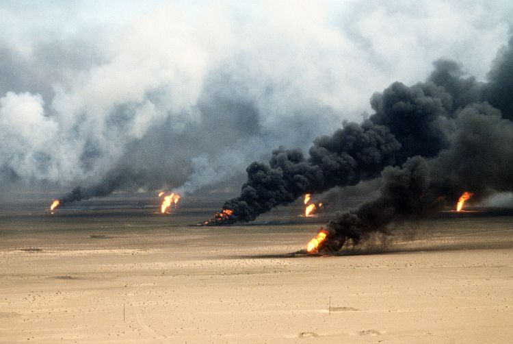 Gulf War oil well fires