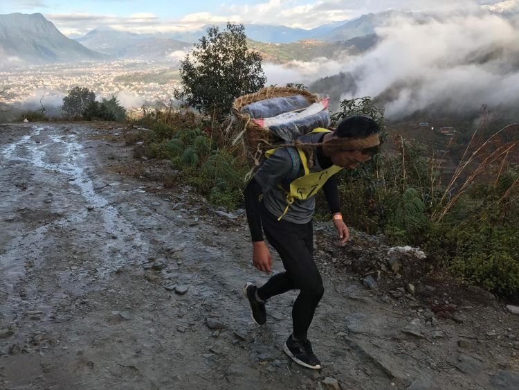 Gurkha selection - Doka Race and climbing uphill 050219 SOURCE Forces News