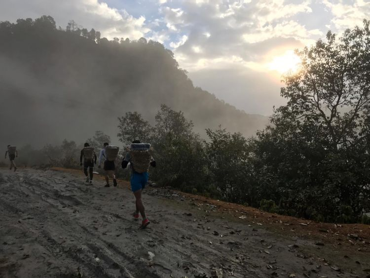 Gurkha selection - Doka Race on the mountains 050219 SOURCE Forces News