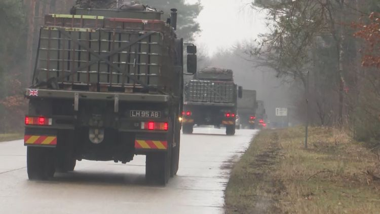 Gurkhas drive on German roads for the first time 180219 CREDIT BFBS.jpg