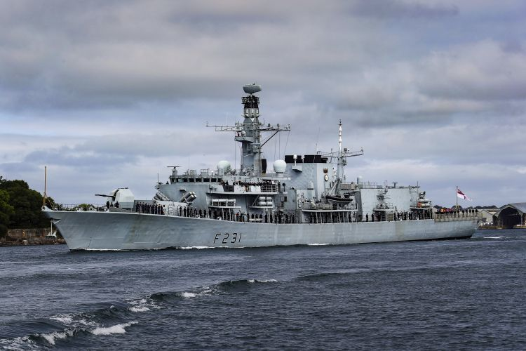HMS Argyll (Picture: MOD).