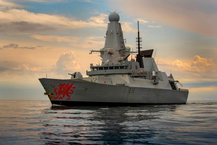 HMS Dragon (Picture: Royal Navy).