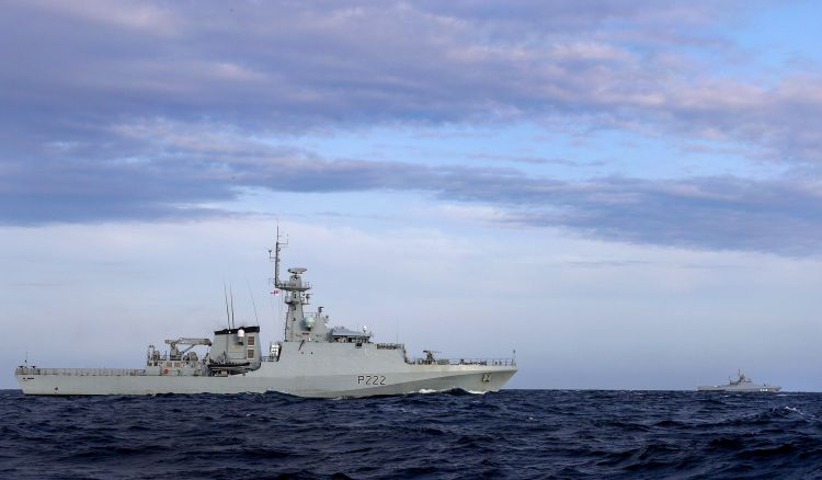 HMS Forth had only recently returned from a visit to Gibraltar (Picture: Royal Navy).