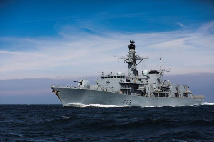 Type 23 frigate HMS Kent will set sail in September (Picture: MOD).