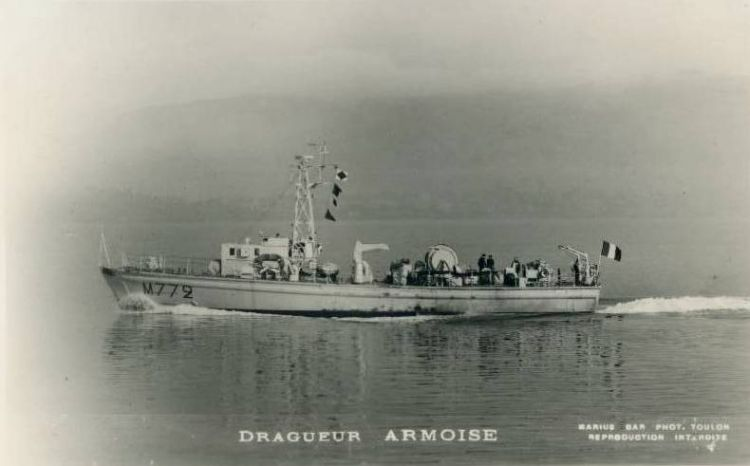 HMS Wexham As 'Armoise'