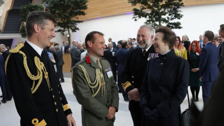 HRH Princess Royal at the opening of the building 260419 CREDIT UKHO.jpg
