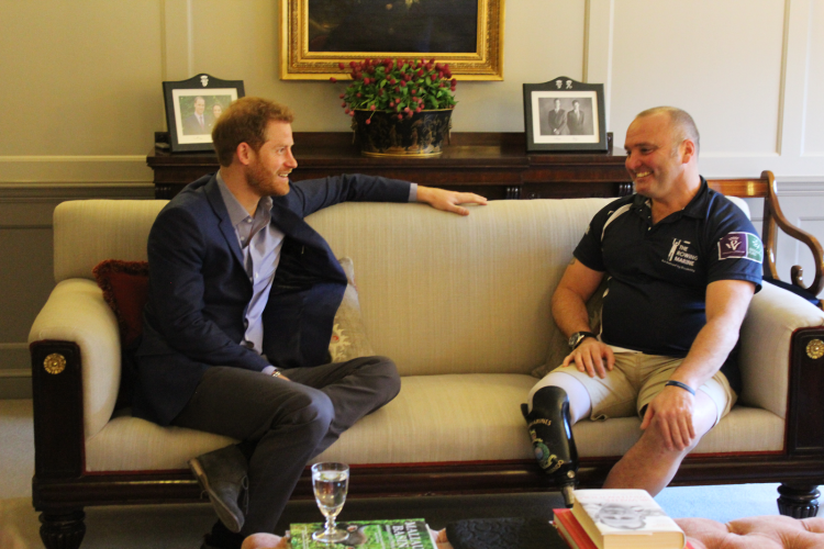 Prince Harry and Lee Spencer