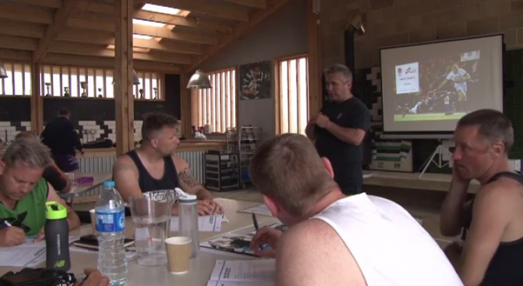 Classroom sessions build rugby knowledge