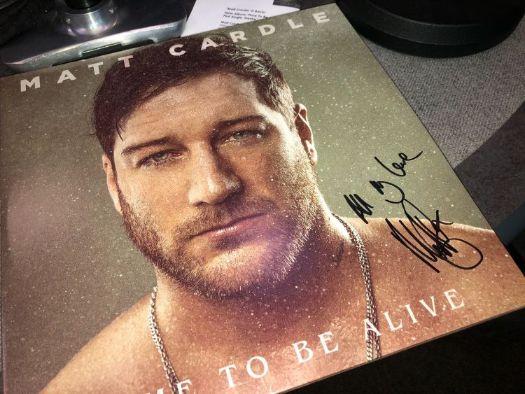 Matt Cardle Time to be Alive album
