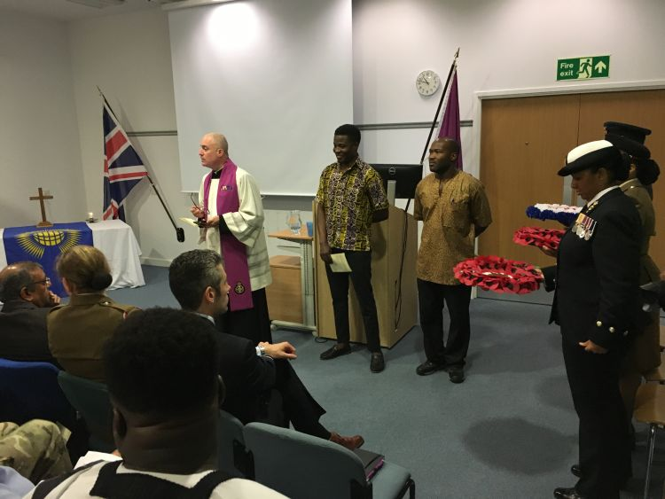 A remembrance service dedicated to Commonwealth personnel took place