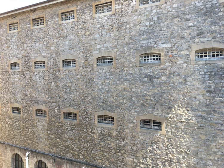 Prisoners at HMP Shepton Mallet faced hanging or firing squads