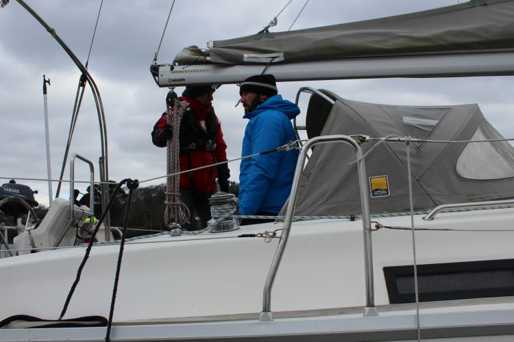 Dan Fielding is now a Yachtmaster Instructor with Turn To Starboard