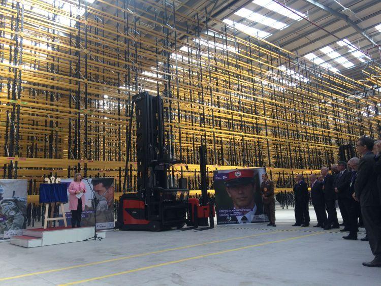 Mod Open New 163 83m Logistics Centre