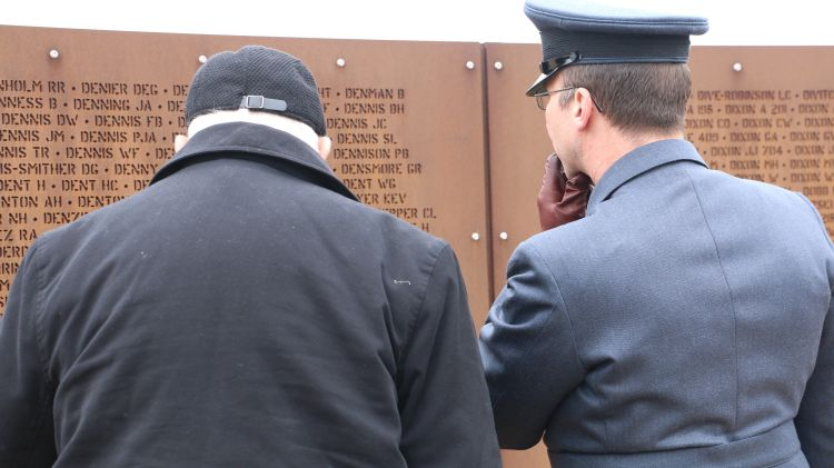 International Bomber Command Centre Openning