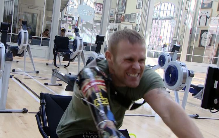 Mark Ormrod Invictus Games training