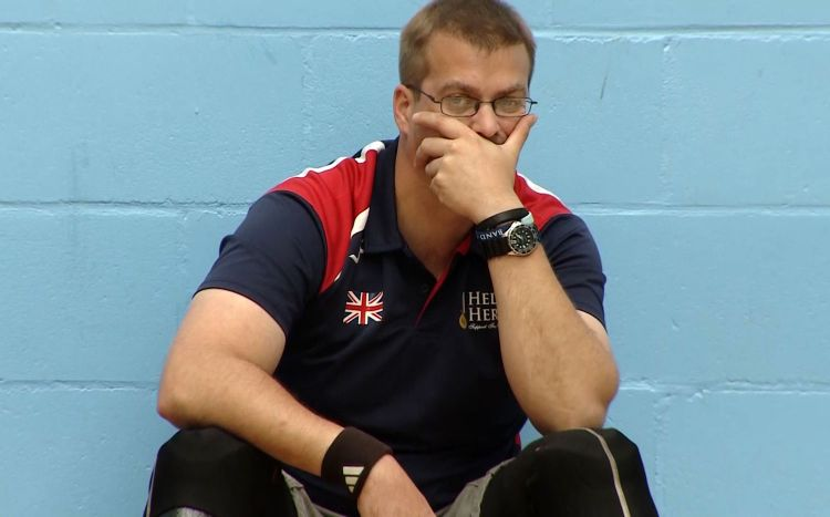 Invictus Games sitting volleyball coach Charlie Walker