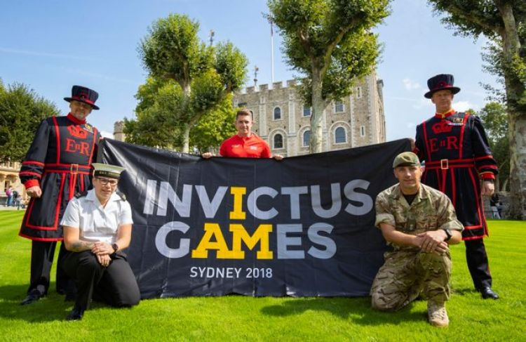 Invictus Games flag tour