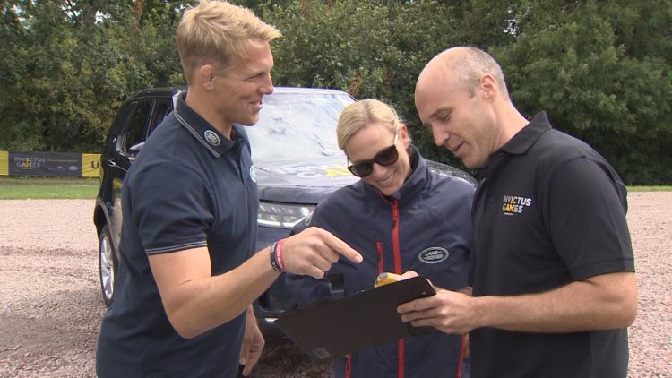Invictus Games Driving Challenge Jaguar Land Rover Tindall Moody