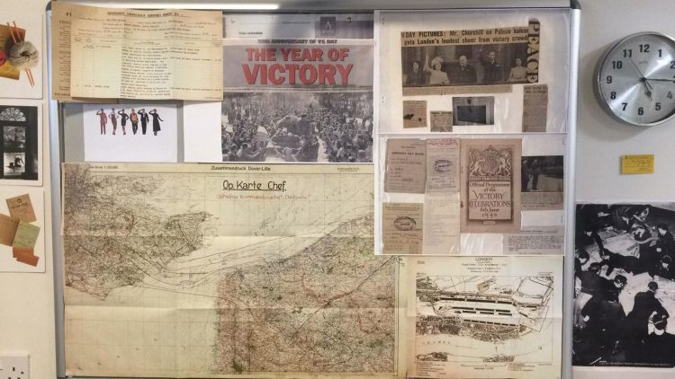 Ipswich care home create museum based on residents war time experiences