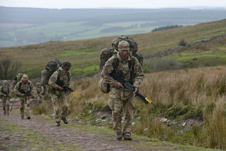 Patrols will cover miles across the Brecon Beacons. Credit: Crown Copyright