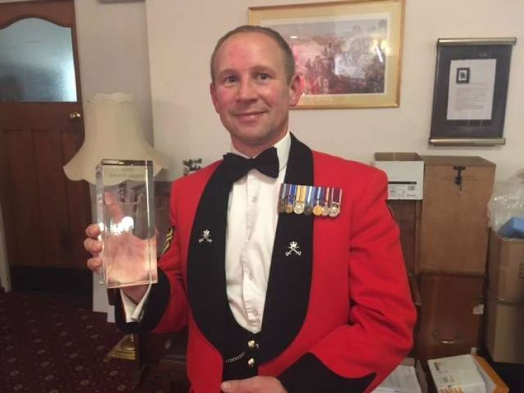 Army Official of the Year 2017 - Jason Browring