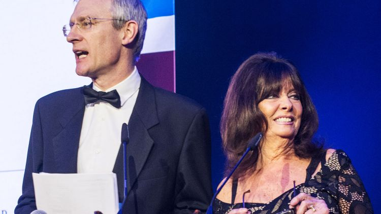 Jeremy Vine Vicki Michelle ers Soldiering On Awards 2018 Credit: Schmooly