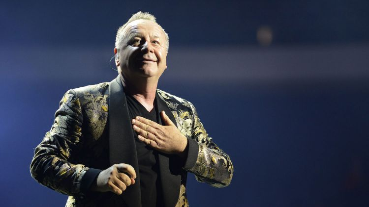 Jim Kerr Simple Minds Credit Rudi Keuntje/Geisler-Fotopress/DPA/PA Images 2016 Night of the Proms TUI-Arena Hannover, 15.12.2015