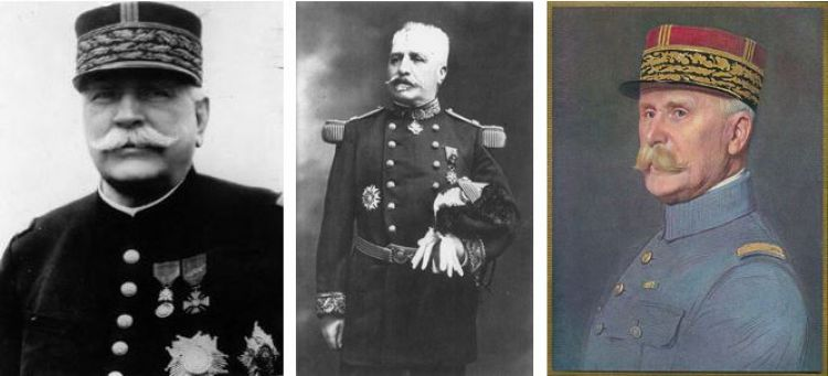 French commanders World War One