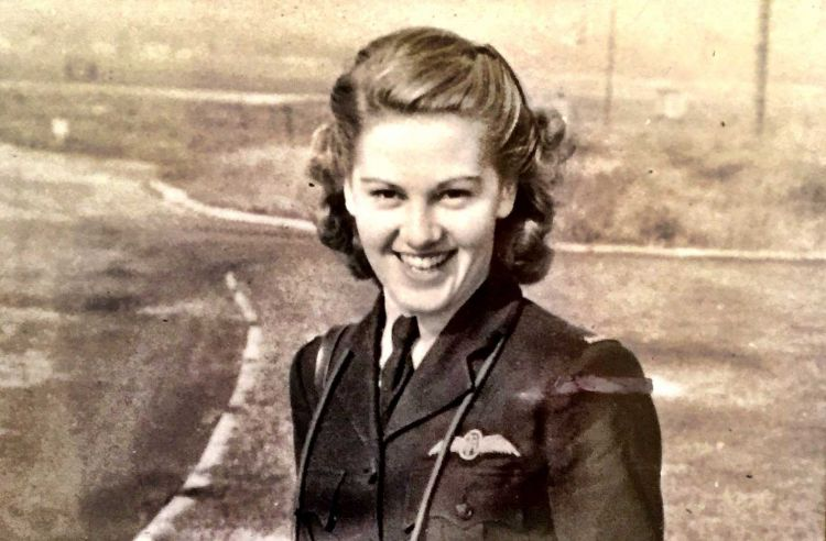 Joy Lofthouse Spitfire Girl Air Transport Auxiliary (ATA) Second World War