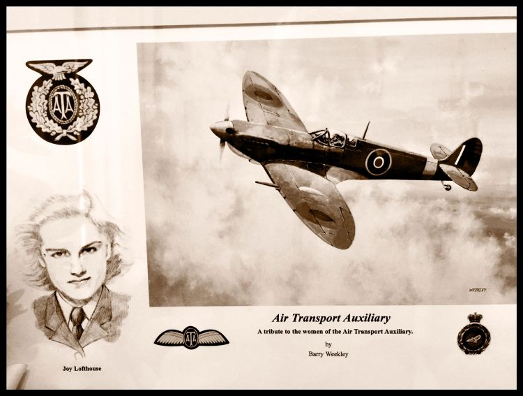 Joy Lofthouse Air Transport Auxiliary Pilot Tribute Barry Weekly